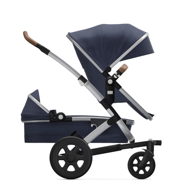 Joolz Geo² Expandable Set in Classic Blue on stroller
