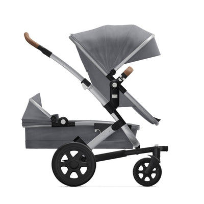 Joolz Geo² Expandable Set in Gorgeous Grey on stroller