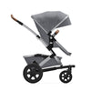 Joolz Geo² Mono Complete Stroller in Gorgeous Grey side view