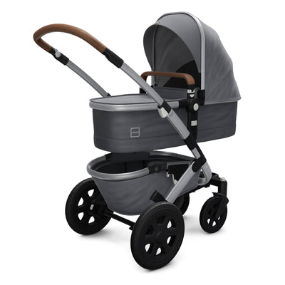 Joolz Geo² Mono Complete Stroller in Gorgeous Grey with bassinet