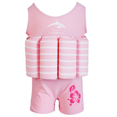 Konfidence Floatsuit in Pink Brenton Stripe