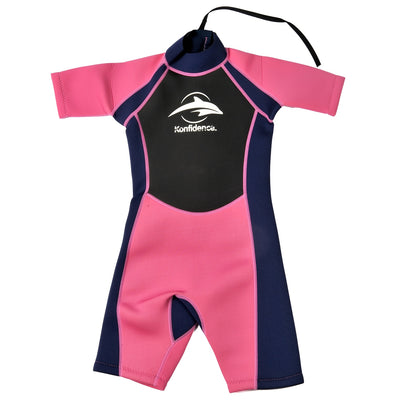 Konfidence Shorty Wetsuit in Pink
