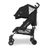 Maclaren 2018 Quest Stroller in Black/Black side view