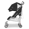 Maclaren 2018 Quest Stroller in Black/Silver side view