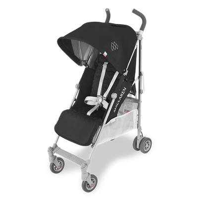 Maclaren 2018 Quest Stroller in Black/Silver