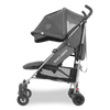 Maclaren 2018 Quest Stroller in Charcoal Denim side view