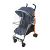 Maclaren 2018 Quest Stroller in Denim Indigo with rain cover