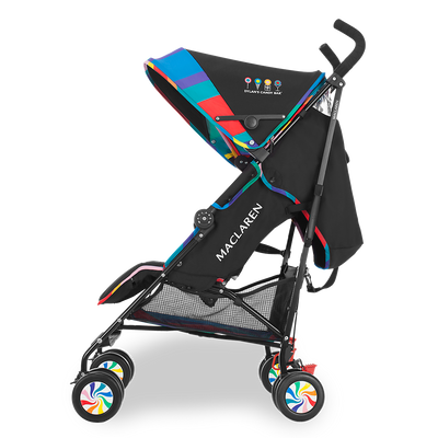 Maclaren Quest Objects of Design Dylan's Candy Bar Stroller side view