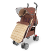 Maclaren Techno XT Objects of Design Albert Thurston Stroller with footmuff