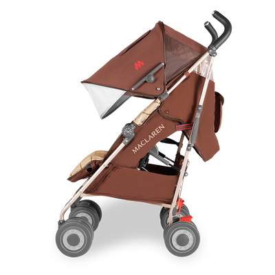 Maclaren Techno XT Objects of Design Albert Thurston Stroller side view