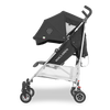 Maclaren 2018 Triumph Stroller in Black/Charcoal side view