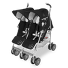 Maclaren Twin Techno Stroller in Black