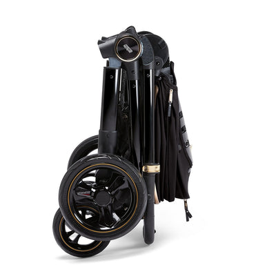Mamas & Papas Ocarro Jewel Stroller in Black Diamond folded