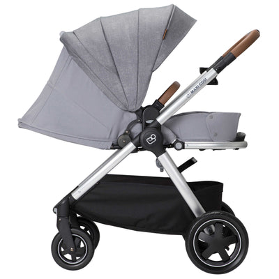 Maxi-Cosi Adorra™ Nomad Travel System in Nomad Grey carriage mode