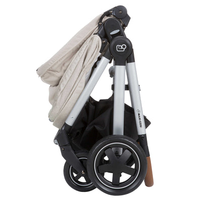 Maxi-Cosi Adorra™ Nomad Stroller in Nomad Sand folded