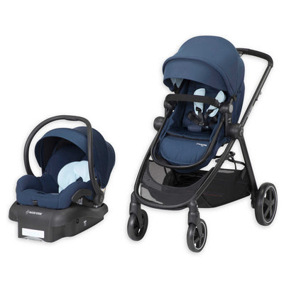 Maxi-Cosi Zelia Travel System in Aventurine Blue