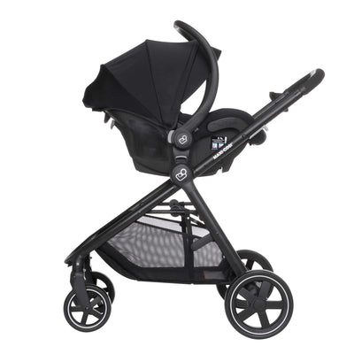 Maxi-Cosi Zelia Travel System in Night Black with Mico 30 car seat