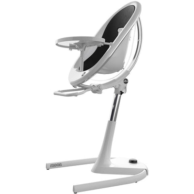 Mima Moon 2G White High Chair in Black