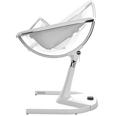Mima Moon 2G White High Chair as Newborn Lounger