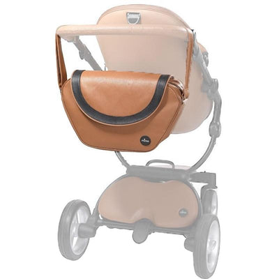 Mima Trendy Changing Bag in Camel on Xari Stroller