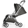 Mima Zigi Stroller in Charcoal with Seat Reclined