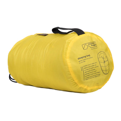 Mountain Buggy Sleeping Bag in Cyber rolled up