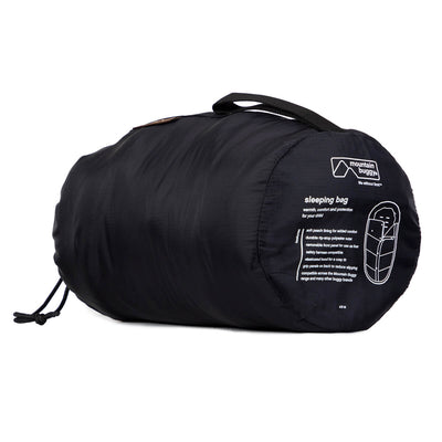 Mountain Buggy Sleeping Bag in Grid rolled up
