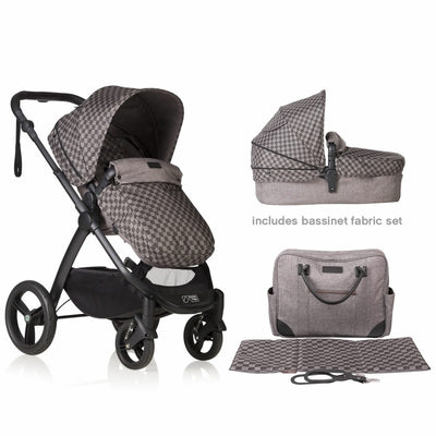 Mountain Buggy Cosmopolitan Geo Luxury Stroller package