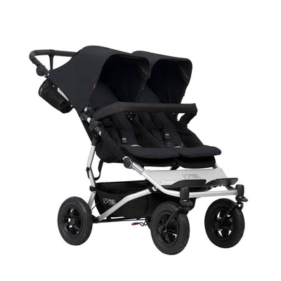 Mountain Buggy Duet V3 Double Stroller in Black