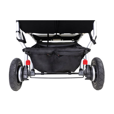 Mountain Buggy Duet V3 Double Stroller underseat basket