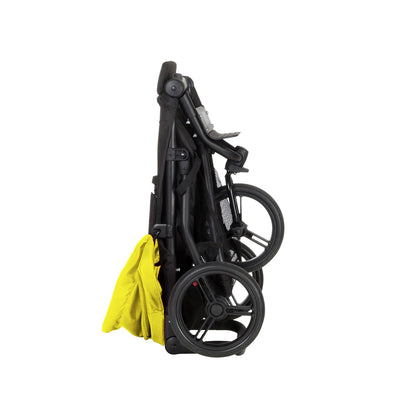 Mountain Buggy Mini Stroller in Cyber folded