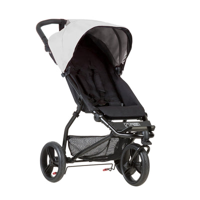 Mountain Buggy Mini Stroller in Silver