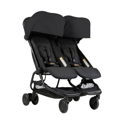 Mountain Buggy Nano Duo Stroller in Black