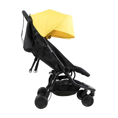 Mountain Buggy Nano Duo Stroller in Cyber side view