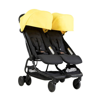 Mountain Buggy Nano Duo Stroller in Cyber