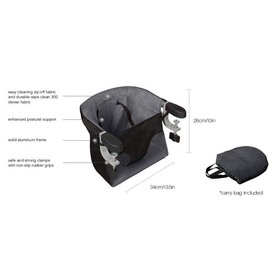 Mountain Buggy Pod Portable High Chair features
