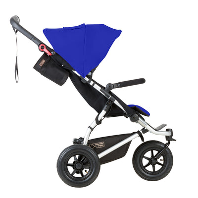 Mountain Buggy Swift Stroller in Marine side view