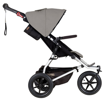 Mountain Buggy Urban Jungle Stroller in Silver side view