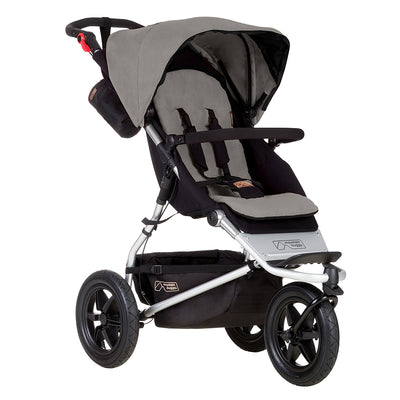 Mountain Buggy Urban Jungle Stroller in Silver