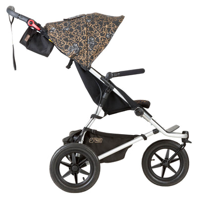 Mountain Buggy Urban Jungle Stroller in Year of Rooster side view