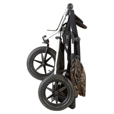 Mountain Buggy Urban Jungle Stroller in Year of Rooster folded