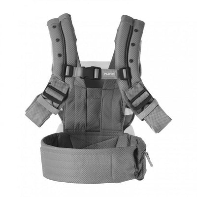 Nuna CUDL Baby Carrier 2020 in Slate back view
