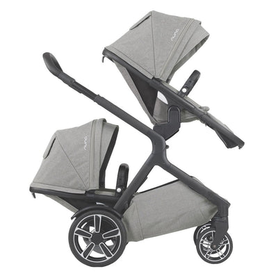 Nuna DEMI™ Grow Stroller with Sibling Seat in Frost