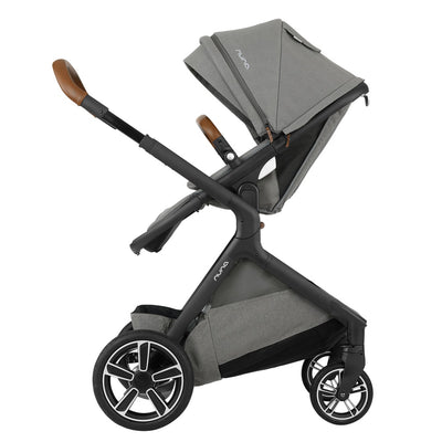 Nuna DEMI™ Grow Stroller in Oxford with seat reversed