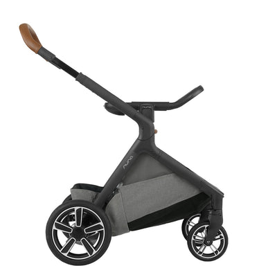 Nuna DEMI™ Grow Stroller in Oxford with ring adapter attached