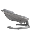 Nuna LEAF grow Baby Seat in Oxford side view and reclined