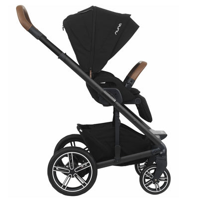 Nuna MIXX 2019 Stroller in Caviar side view