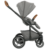 Nuna MIXX Stroller + Ring Adapter in Oxford side view