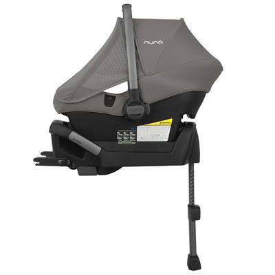 Nuna PIPA™ Lite LX Infant Car Seat in Frost with Dream Drape side view