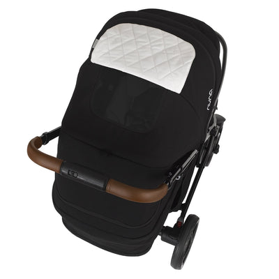 Nuna TAVO 2019 Travel System in Caviar with viewing window
